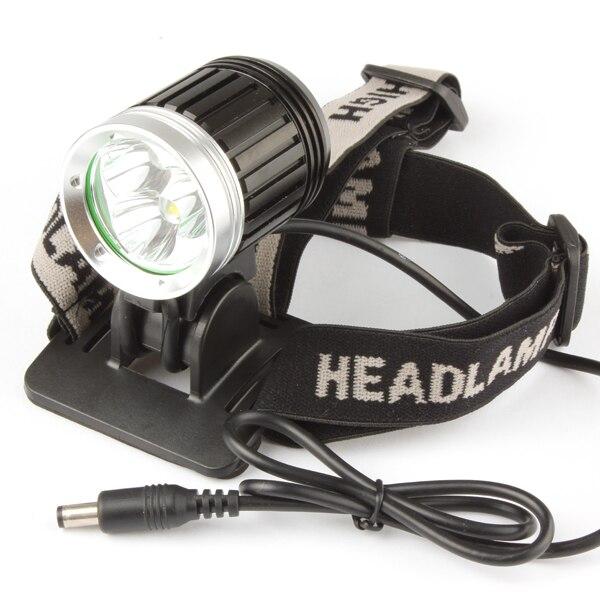 1800Lm XM-L T6 LED Bike Bicycle Headlamp Headlight Waterproof 4 Mode Outdoor Cycling Head Light Lamp + Headband + Battery Pack waterproof 8000 lm 4x xml t6 led cycling bicycle bike front tail light lamp headlight headlamp 6400mah battery pack charger