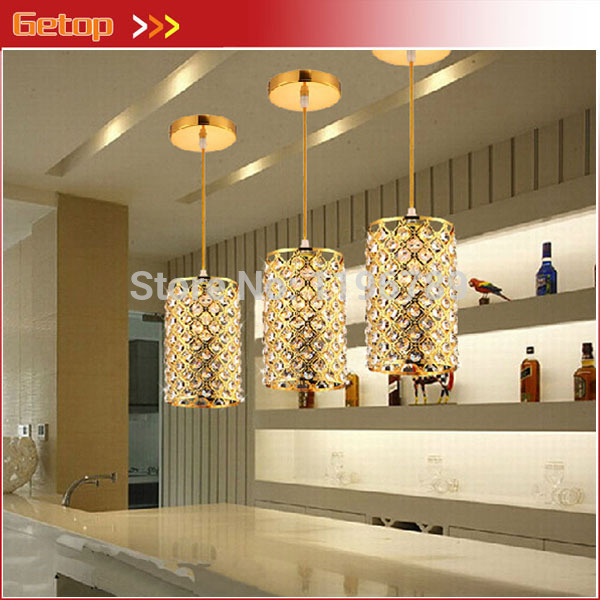 Best Price 3pcs/set Restaurant Lamp Chandelier Modern Creative Single-head Pendant Lamp Corridor Bar Crystal Chandeliers z best price minimalist restaurant bar chandelier single head lamp creative balcony flower pot lamp hanging garden lightings