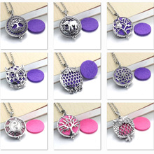 1pcs Aroma Diffuser Necklace Open Antique Vintage Lockets Pendant Perfume Essential Oil Aromatherapy Locket Necklace With Pads new aroma diffuser necklace open antique vintage lockets pendant perfume essential oil aromatherapy locket necklace with pads