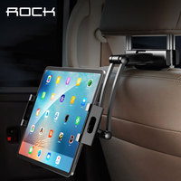 ROCK Car Phone Holder Mount for iPad Mini Pro Tablets Phones Rear Seat Bracket Universal Car Back Seat Stand Holder for iPhone