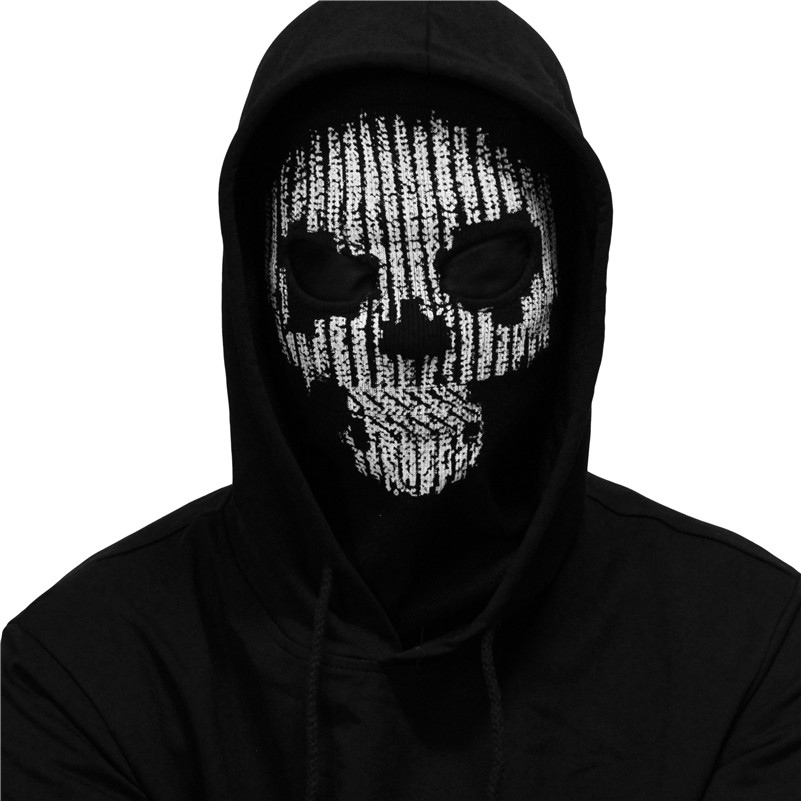 SzBlaZe Brand Watch Dogs 2 Hacker Cosplay Balaclava Mask Halloween Ghost Full Face Game CS Player Stocking mask   Skullies     Beanies