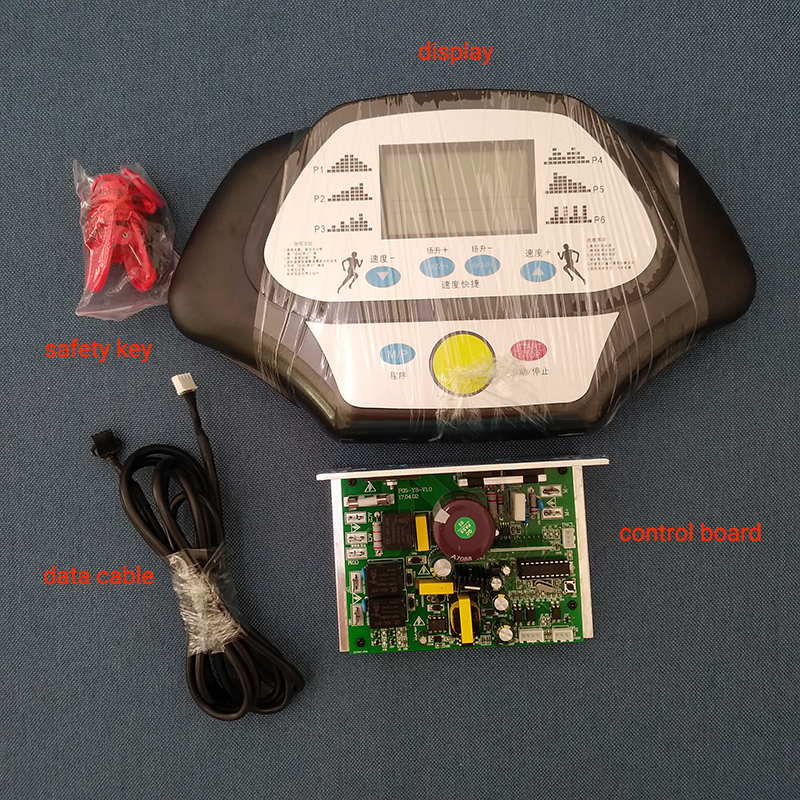 General treadmill controller set with display panel and circult board for 1 2 hp motor
