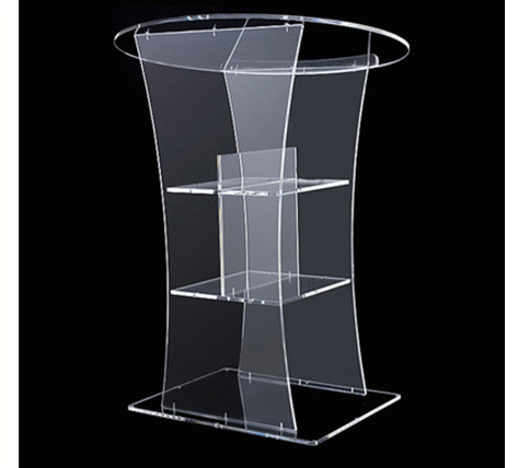 Church Pulpit Handmade Acrylic Lectern Clear Acrylic Church Pulpit Crystal Lectern