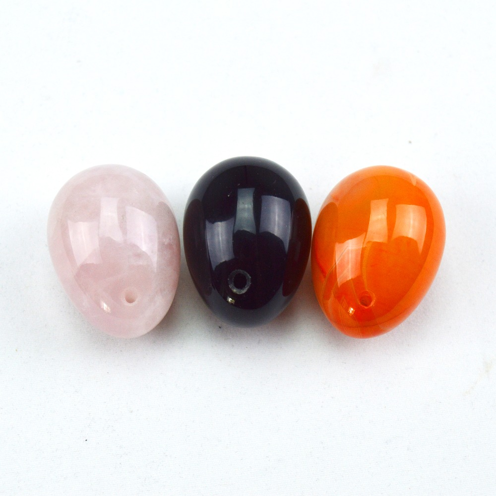 3 pcs natural jade egg for kegel exercise pelvic floor muscles vaginal exercise yoni egg ben wa ball