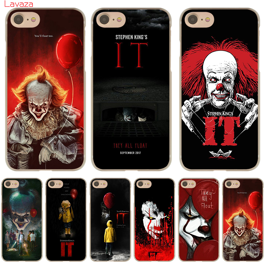 Lavaza Stephen King s It Hard Phone Case for Apple iPhone X 10 8 7 6 6s Plus 5 5S SE 5C 4 4S Cover Coque Shell