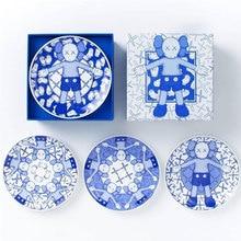 Новый 4 шт. один комплект KAWS праздник Посуда Плиты OriginalFake интимные аксессуары коллекция современные подарки 15 см Ширина