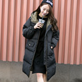 Plus size Jacket And Coat For Women X-long New Winter  2015 High Quality Warm Female Warm Parka Hood Over Coat New Arrival RH73
