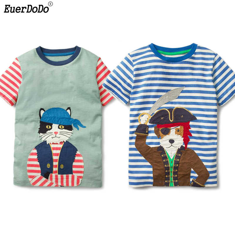 Pirate Ship age 1-4 years Boys Cotton Shorts and Short Sleeve T-Shirt Set