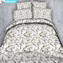 adult duvet cover 3d elegant cute flower bedding set queen king twin single size bed cover girl pastoral pillow cases bedspreads