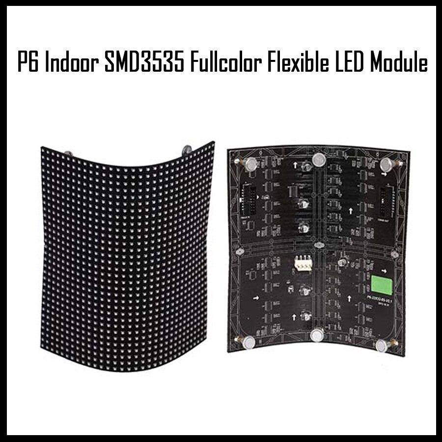 Flexible Led Module : P indoor fullcolor flexible led module pixel