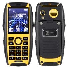 Anti de goma antideslizante a prueba de golpes arañazos IP68 a prueba de agua llave grande de sonido mini tamaño del teléfono celular móvil al aire libre rugoso P103