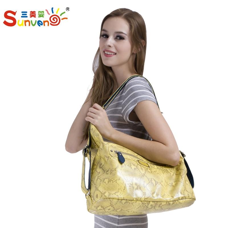ФОТО Fashion multifunctional maternity mummy bag nappy bags large capacity handbag cross-body single double-shoulder backpack