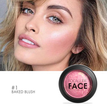 Focallure Blush Face Maquiagem Soft Smooth Makeup Palette Bronzer Blusher with top quality 6colors for choose