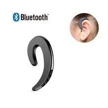 Wireless Bluetooth Bone Conduction Earphones Ear Hook Painle