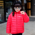 2016 New Arrive Winter Girls Down Jacket Winter Down Jacket Coat Boys And Girls Light Thin Short Jackets Girls Down Coat 6-14T