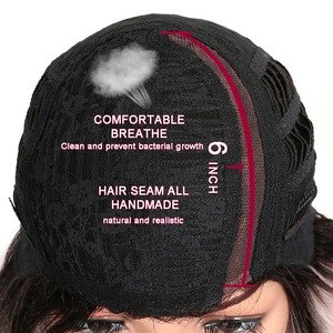 Image 5 - Волшебные короткие волнистые термостойкие парики, синтетические кружевные передние парики, 15 дюймов, средняя часть, безклеевые парики для черных женщин, плотность 150