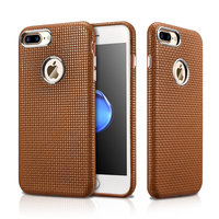 Fashion 360 Full Protection Slim Case Cover For iPhone 7/ 7 Plus Luxury Genuine Leather Ultra Thin Hard Cases For iPhone 7 Plus