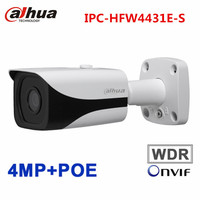 Dahua 4MP IP CCTV Camera IPC HFW4431E S 3 6mm WDR POE H 265 IR 40m