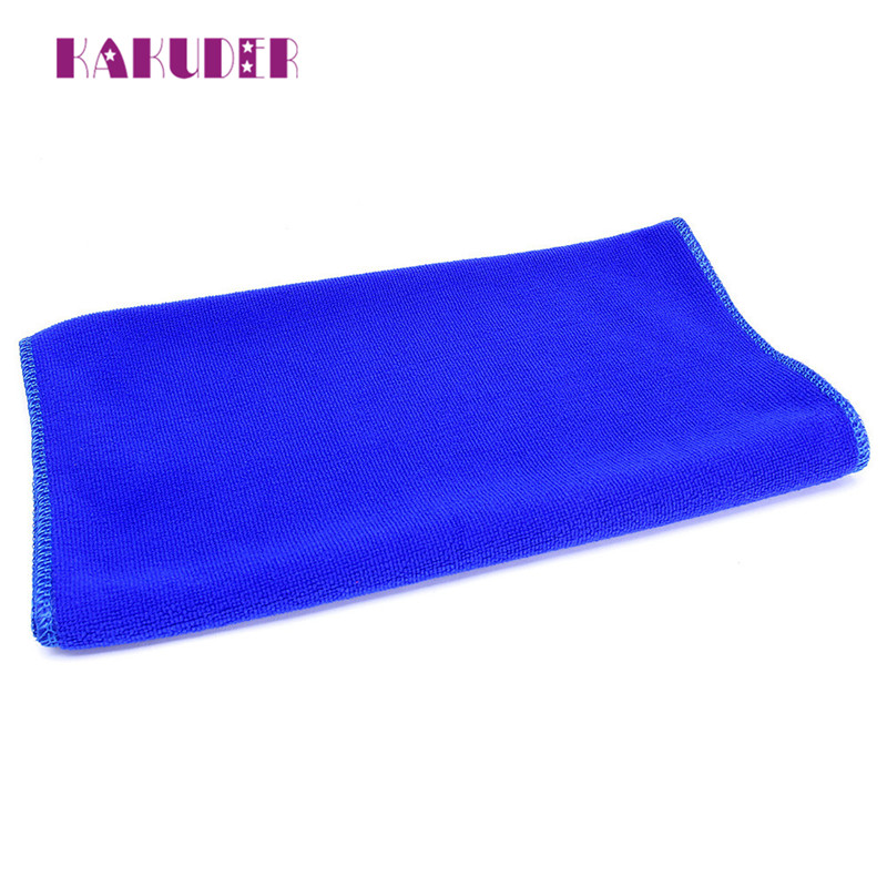 Blue Soft Absorbent Wash Cloth Car New Practical 10Pcs Auto Care Microfiber Cleaning Towel Towels quality cleaning new 17may31