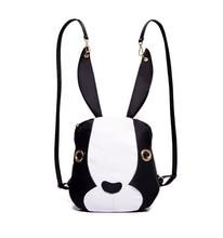 Новая мода нейлоновой ткани с рисунком Кролика модные женские туфли сумка рюкзак MS многоцветная чистый цвет модели животных рюкзак 19-7229