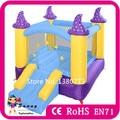 Entrega rápida Mini inflável castelo de salto / salto inflável / inflável casa do salto