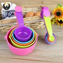 FGHGF 5 шт. Набор цветных измерительных кухонных ложек измерительные инструменты для приготовления ложек Размер S L. Kichen Аксессуары Инструмент