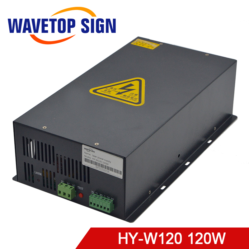 WaveTopSign HY-W120 100-120w CO2 Laser Power Supply For CO2 Laser Engraving Cutting Machine
