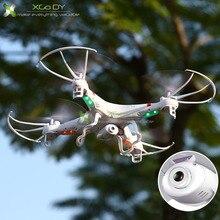 Drone modêlo X5C-1 de 2.4Ghz com 4 canais dotado com giroscópio de 6 eixos para permitir vôo estável. Câmera de 0.3MP HD. Tempo de carga de 100 minutos e autonomia de vôo de 7 minutos. Alcance do sinal do controle remoto de aprox. 80 m.