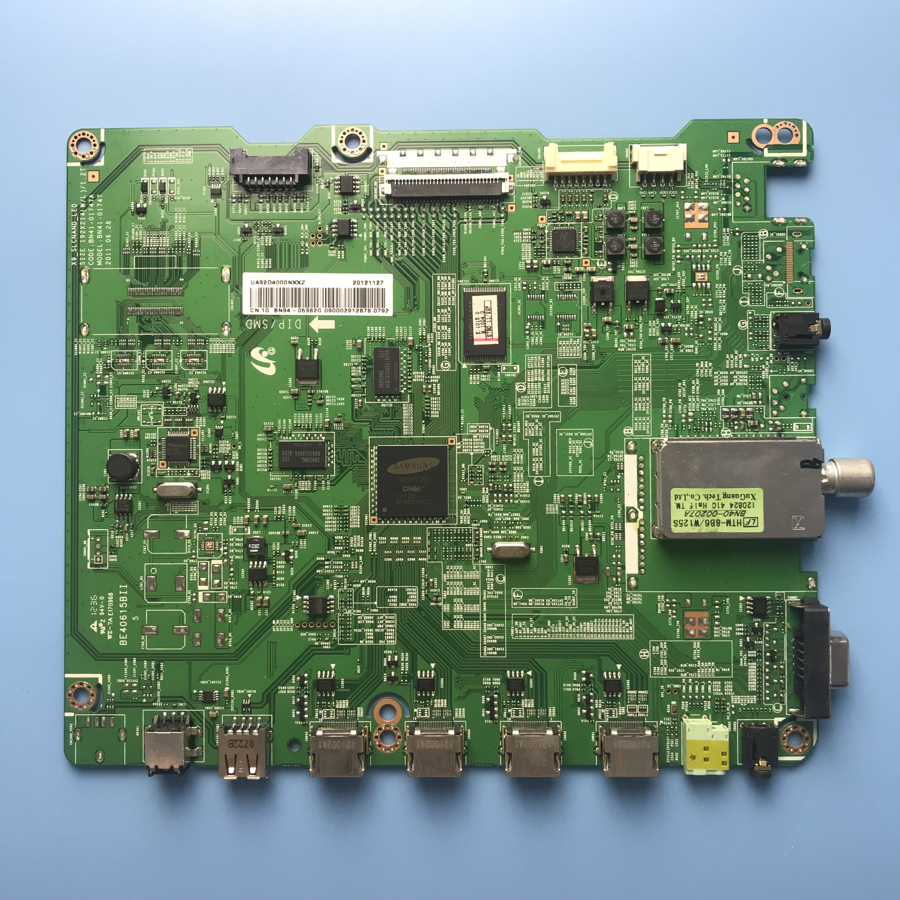 Motherboard Mainboard Card For Samsung TV UA32D4000 BN41-01747A BN41-01661B Screen LTJ320AP01-H LTJ320HN01-H