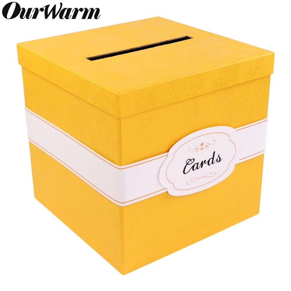 Wedding Preservation Boxes: OurWarm Wedding Card Box Creative Money Box Wedding