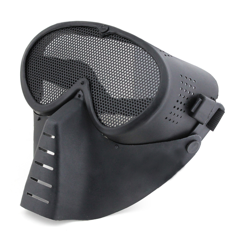 High Qualtiy Adults CS Breathable Full Face Protective Tactical Masks Outdoor Sports Shooting Hunting Paintball Equipment