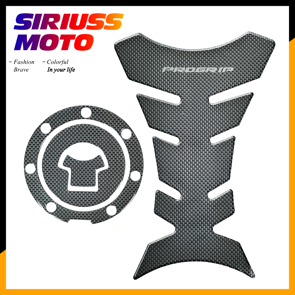 3D Carbon-look Motorcycle Tank Protector Gas Cap Decals Case For Honda CBR900RR CBR929RR CBR954RR 1993-2004