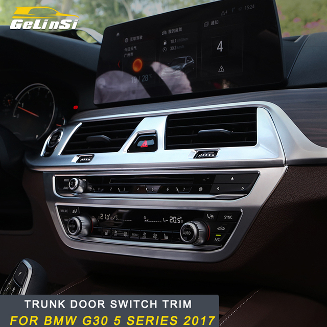 Offer Gelins For BMW G30 5 series 2018 2017 Front vent frame cover A