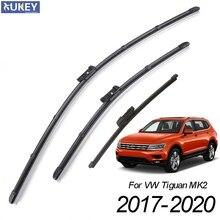 "Xukey 3 шт. передние и задние щетки стеклоочистителя для VW Tiguan MK2 2"" 21"" 14"""