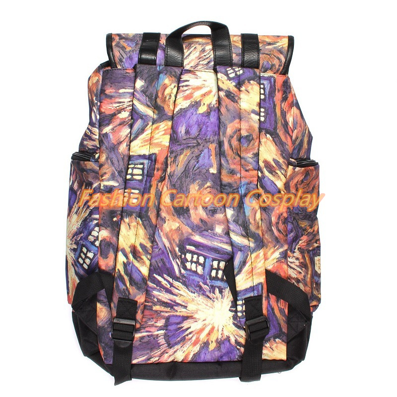 New Doctor Knapsack Who Dr. Who Tardis Backpack Women/men Travel Shoulder Bags Boys Girls School Bags Public Call Police Box high quality doctor dr who tardis police box backpack bag call box pu leather with tag female man shoulder bag