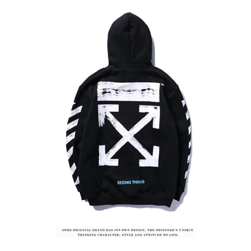 4f360a75b3d1 Aliexpress.com   Buy Off white hoodie brand sketch graffiti fashion hoodies  from Reliable Hoodies   Sweatshirts suppliers on IVESport Store