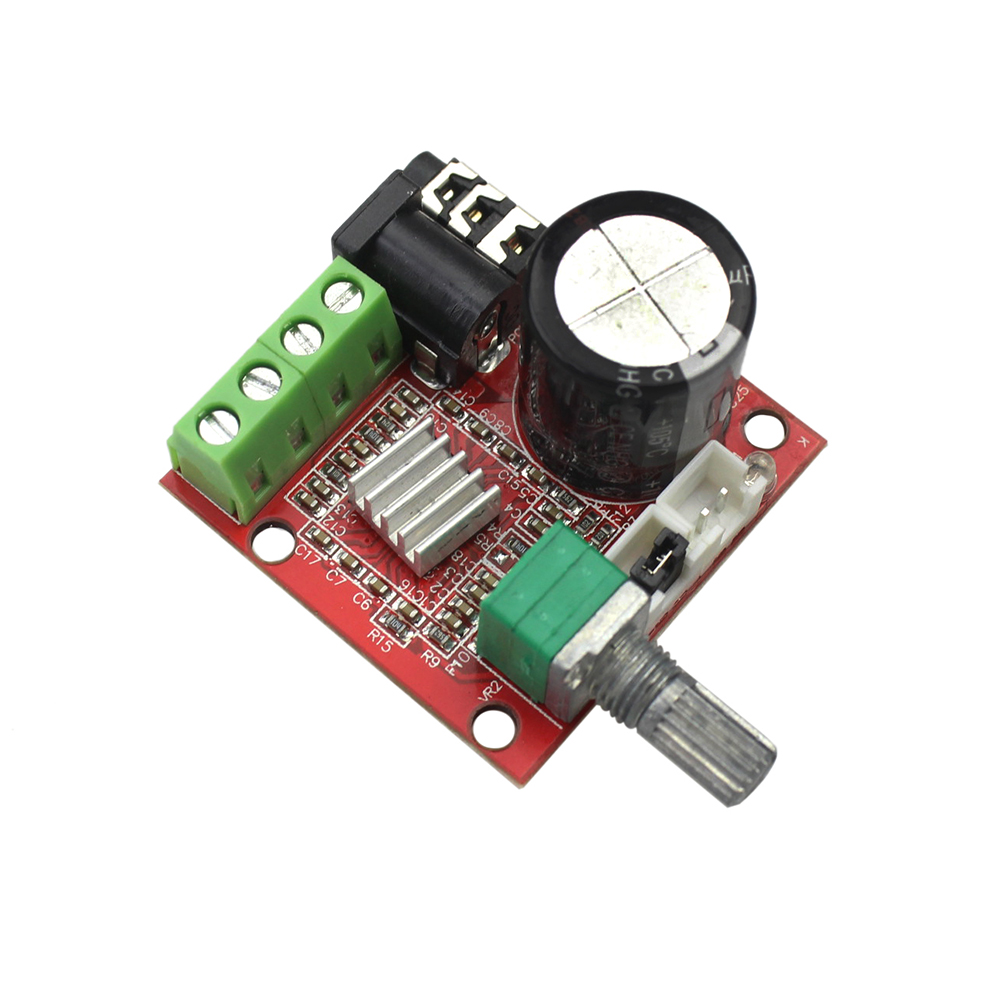 12v 2x10w Hi Fi Pam8610 Audio Stereo Amplifier Board Module Dual D Details About Mini Hifi Circuit Class Channel In Integrated Circuits From Electronic Components Supplies On