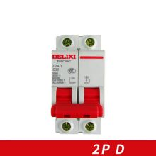 Miniature Circuit breaker Air switch  DZ47s-63 DELIXI MCB 2Pole