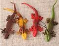 Simulation plastic Lizard toys Reptile Lizard Toy Animal Figure soft rubber Lifelike Prank Prop Gift Decor lagarto plastico