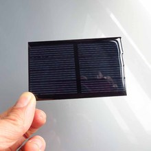 5PC X 2V 300mA Mini monocrystalline polycrystalline solar generator Panel small solar  PV module battery cell