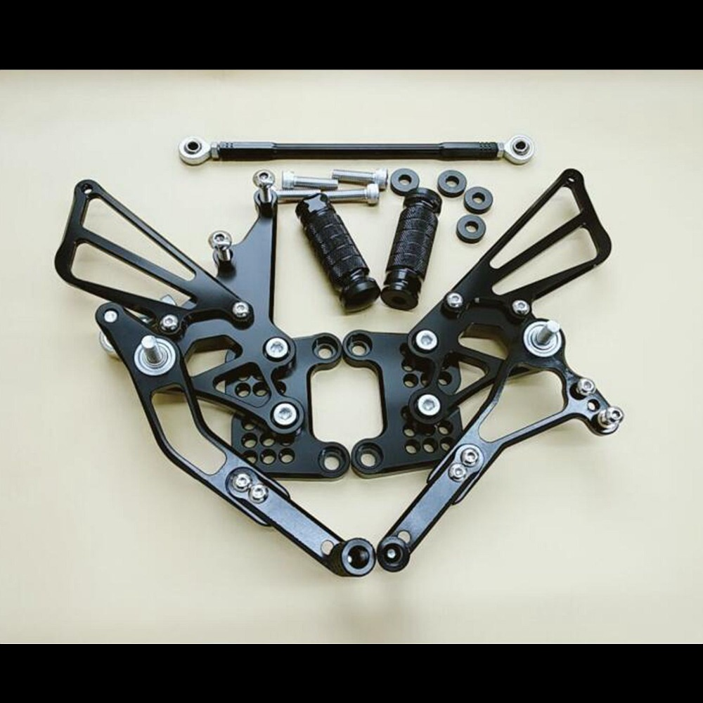 Aluminum Adjustable Rearsets Rear set For TRIUMPH Speed Triple 509 595 955 1050