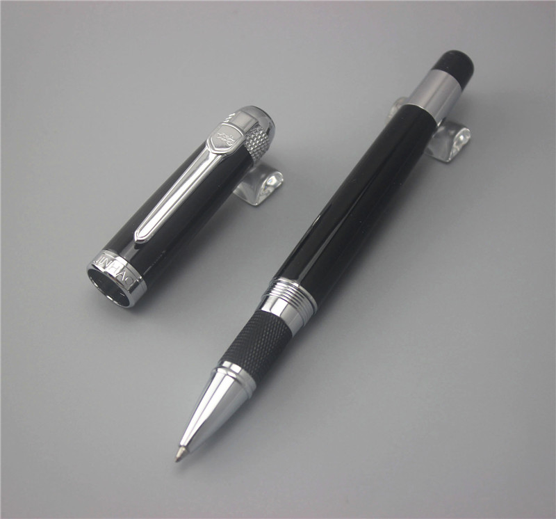 Megas jinhao 189 kovové jednoduché klasické vysoce kvalitní podpis pero student psaní obchodní kancelář podpis dárek kuličkové pero