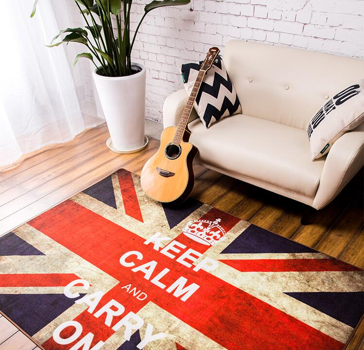 Aliexpress.com : Buy British Style England Flag Rug British Flag Carpet  Bedroom Living Room Coffee Table Sofa Carpet Mats Retro Do The Old Creative  From ...