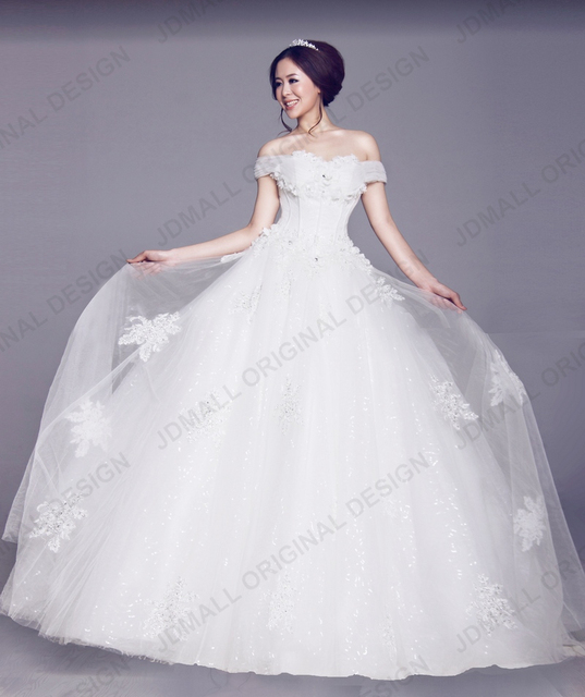 New fashion fat size country style guipure lace wedding dresses for ...