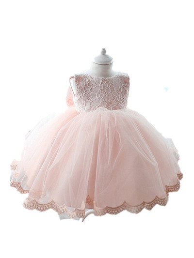 04ad0eef5c1 Pink baby flower girl dresses for weddings party formal gowns christening  gowns for girls kiz cocuk elbise summer dress 9042