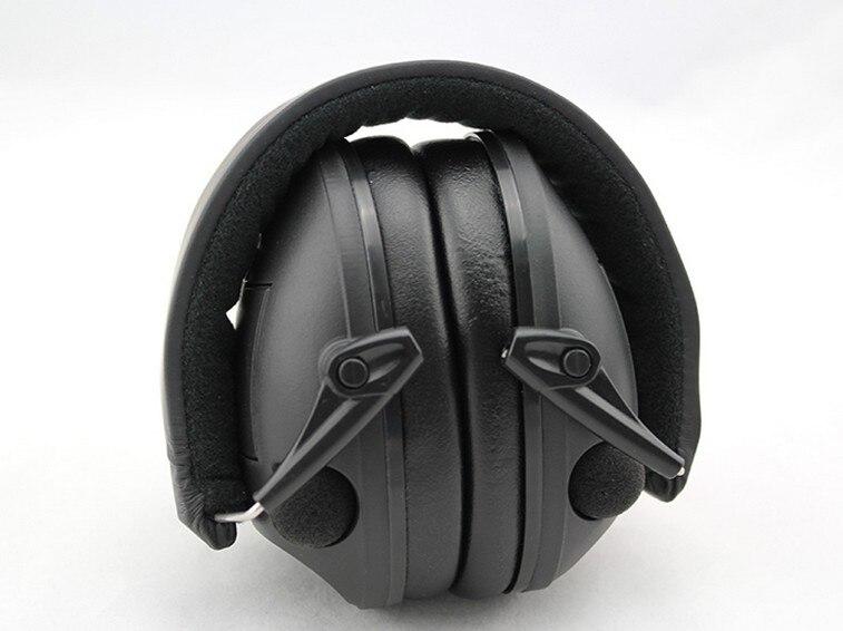 bilder für IPSC Elektronische Taktische Ohrenschützer anti-lärm Jagd Schießen Hören Gehörschutz Kopfhörer Schalldichte Muff Schutz