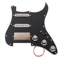 1 Set SSH Prewired Alnico 5 Humbucker Pickup Schlagbrett für Strat ST Elektrische Gitarre Ersatz Musical Saiten Instrumente