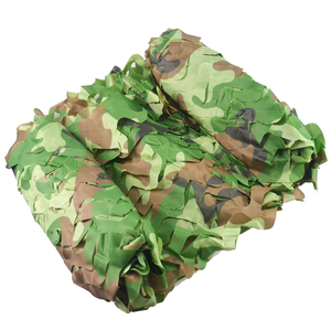 Image 3 - Free Shipping Camouflage Net Camo 2*3M Sun Shelter Jungle Blinds Car covers For Hunting Camping Military Outdoor