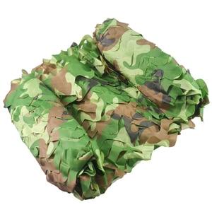 Image 3 - Kostenloser Versand Camouflage Net Camo 2*3M Sun Shelter Dschungel Jalousien Auto abdeckungen Für Jagd Camping Militär outdoor