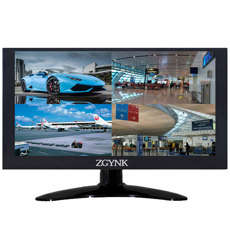 "Monitor LCD IPS HD de 11,6 "", 1920x1080, monitor VGA, BNC, AV, HDMI, monitor de ordenador, pantalla de equipo industrial"